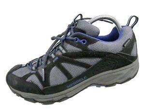 Merrell Womens Sneakers BLACK Performance Footwear Blk & Grey US 8.5 EUR 39 UK 6