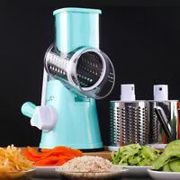 Manual Vegetable Cutter Slicer Kitchen Utensil Round Mandoline Slicer