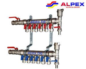 Collecteur KIT complet pour 5 radiateurs. Alpex