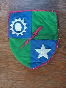 RARE THEATRE MADE WWII US ARMY MERRILLS MARAUDERS HAND SEWN PATCH