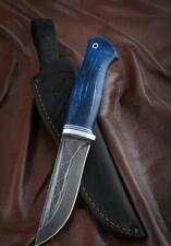 "Handmade Custom author's Damascus survival hunter knife ""Tarantula"""