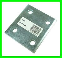 """3"""" Tow Ball Drop Plate with 4 Holes [MP231] Zinc Plated"""