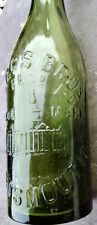 Baggs Brothers Portsmouth Cathedral Building Pictorial Mineral Water Bottle
