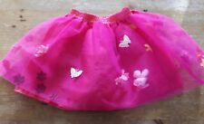 Pink Butterfly Flower Skirt Fancy Dress Up World Book Day ELC to fit up to 116cm
