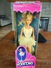 Vintage Ballerina Barbie, by Mattel, 1983.