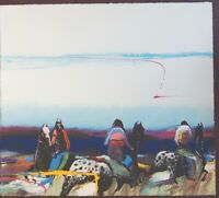 EARL BISS Serigraph Horse Riders Serigraph Signed Ltd Ed 53/175 - 5% off offer