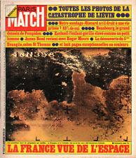 paris match n°1337 france vue de l'espace lievin moore