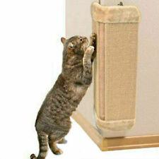 PET KITTEN BOARD SCRATCHER CORNER SISAL WALL CATS HANGING CAT SCRATCHING POST
