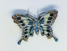 Monet Butterfly Brooch, new in box - REDUCED