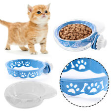 Pet Supplies Cat Cage Durable Dish Feeder Hanging Bowl Food Container Pet Bowl