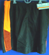 NWT~HIND~Gray w/ Orange Lightweight RUNNING SHORTS~Men's XL~Athletic~Soccer