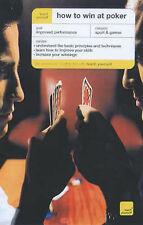 How to Win at Poker (Teach Yourself), Levez, Belinda,