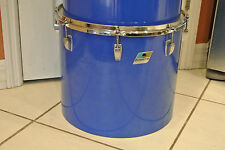 "EXPAND Your DRUM SET Today! RARE 70s LUDWIG USA 16"" BLUE CORTEX CONCERT TOM M654"