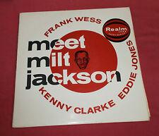 FRANK WESS MEET MILT JACKSON  K . CLARKE  E. JONES LP ORIG UK SAVOY  ORIOLE  EX+