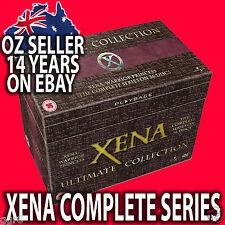 XENA WARRIOR PRINCESS COMPLETE SERIES SEASONS 1 2 3 4 5 6 DVD SET R4 DENT SALE