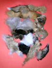 1 LB OF ASSORTED FUR PIECES FLY TYING MATERIALS