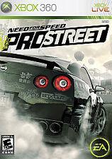 Need for Speed: ProStreet (Microsoft Xbox 360, 2007)