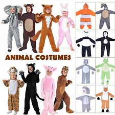 Animals Mascot Kids Pajama Costumes Adults Cosplay Halloween Party Jumpsuits