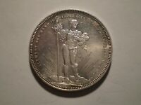 SBQ12 Switzerland Basel Canton 1879 shooting thaler silver 5 francs  prooflike