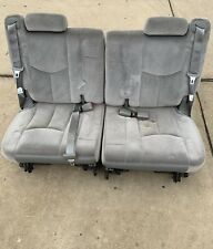 00-06 Chevy Tahoe GMC Yukon Cadillac Escalade Third Row Seats Grey 3rd 2000-2006