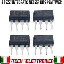 4 pz NE555P NE555 integrato temporizzatore Timer NE555 DIP-8