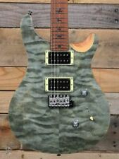 PRS Limited Edition SE Custom 24 Roasted Maple Electric Guitar Trampas Green w/