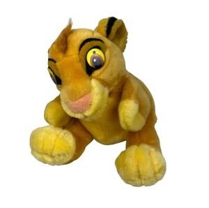 Vintage Disney Lion King Hand Puppet By Applause Simba