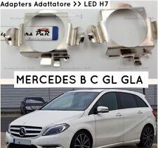 X2 ADATTATORI Kit LED H7  Mercedes CLASSE B C GLA GL BLOCCAGGIO Porta lampada W2