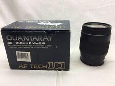 Minolta 35-135mm f/4-5.6 f4 Quantaray Automatic One Touch Zoom Lens Auto Focus