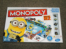 MONOPOLY GAME - DESPICABLE ME 2 EDITION - IN VGC (FREE UK P&P)