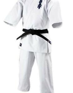 kimono kyokushin karaté white all size Adult/child