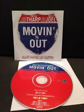 MOVIN' OUT ORIGINAL BROADWAY CAST RECORDING (2002) CD