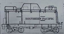 Sn3 WISEMAN MODEL SERVICES V&T SHOPS SOUTHERN PACIFIC SPNG WHALEBACK TENDER KIT