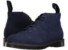 Dr. Martens CHURCH Blue Suede 5 Eye Hiker Boots Womens 5 RARE