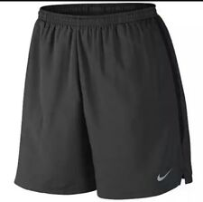 Nike Men Challenger 5 Running Shorts - Dark Anthracite/ Black #644236 060 -2XL