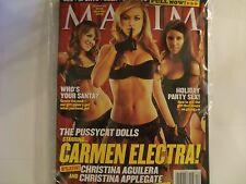 Maxim 12/02,Carmen Electra,Cover 1 of 3,December 2002,NEW