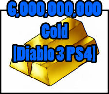 Diablo 3 [Softcore] Nintendo Switch-große Gold Bundle - 6,000,000,000 Gold