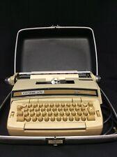 Vintage Smith and Corona Coronet Super 12 Typewriter with Hard Case
