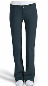 DICKIES GIRLS NEW SLIM FIT BOOTS CUT PANTS N882 WORKER WOMEN- NAVY