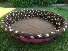 Small Fleece Whelping Pool Box Cover for Litters - Puppies - Kiddie Pool 36""