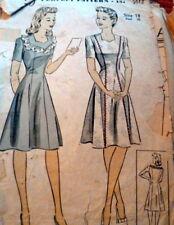 LOVELY VTG 1940s DRESS DU BARRY Sewing Pattern 18/36