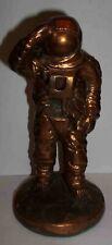 Vintage Bronzed Painted Ceramic Astronaut