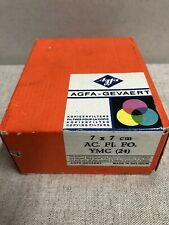 Agfa - 7 x 7 cm Copying Filters - Complete Set