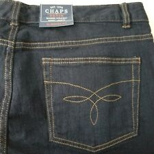 Chaps Jeans 12S Madden Straight Leg Short Length Slimming Fit  Inseam 29 1/2 New