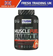 USN Muscle Fuel Anabolic All in One Muscle Gainer Protein Shake Powder 2.2kg