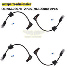 Set of 4 ABS Front Rear Wheel Speed Sensor Fits For Pontiac Chevrolet Captiva