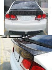 06-11 CARBON FIBER HONDA CIVIC 8 JAPAN MODELS SEDAN CSL TRUNK SPOILER WING