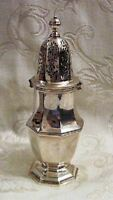 Antique English Victorian Sterling Silver Muffineer 1885 London