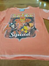 Marvel Super Hero T SHIRT & Esponja Bob!!! tanto edad 5-6YRS