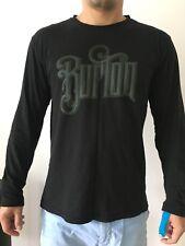 Burton Men's Black Long Sleeve T-shirt Size M